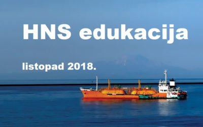 NAJAVA: HNS edukacija u listopadu