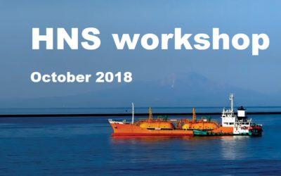 HNS workshop in October