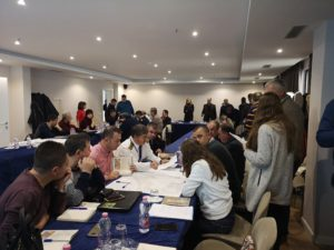 Table-top exercise in Durres