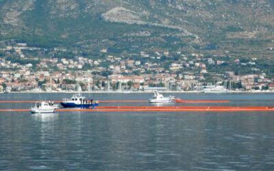 Pokazna vježba suzbijanja onečišćenja s brodova